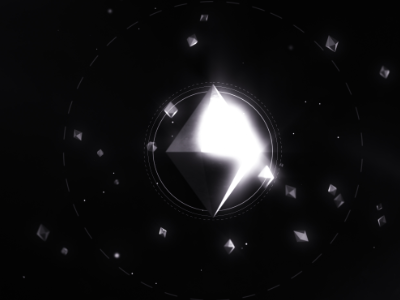 Metabomb Diamond motion graphics identity space graphic design design