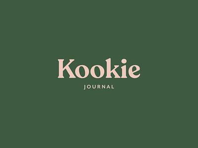 Kookie Logo In Progress feminine design organic holistic blog logo branding