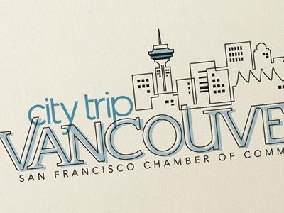 CityTrip Vancouver Identity design branding logo identity