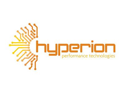 Hyperion Performance Technologies design branding logo identity