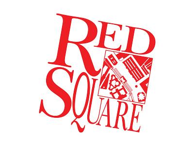 Red Square, Slavic Imports & Gifts design branding logo identity