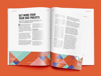 Alternatorial print columns indesign layout design magazine typesetting layout editorial