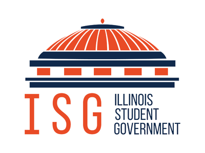Illinois Student Government Logo university college orange and blue blue orange student government illini logo illinois