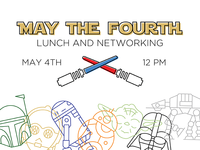 May the Fourth Event Branding
