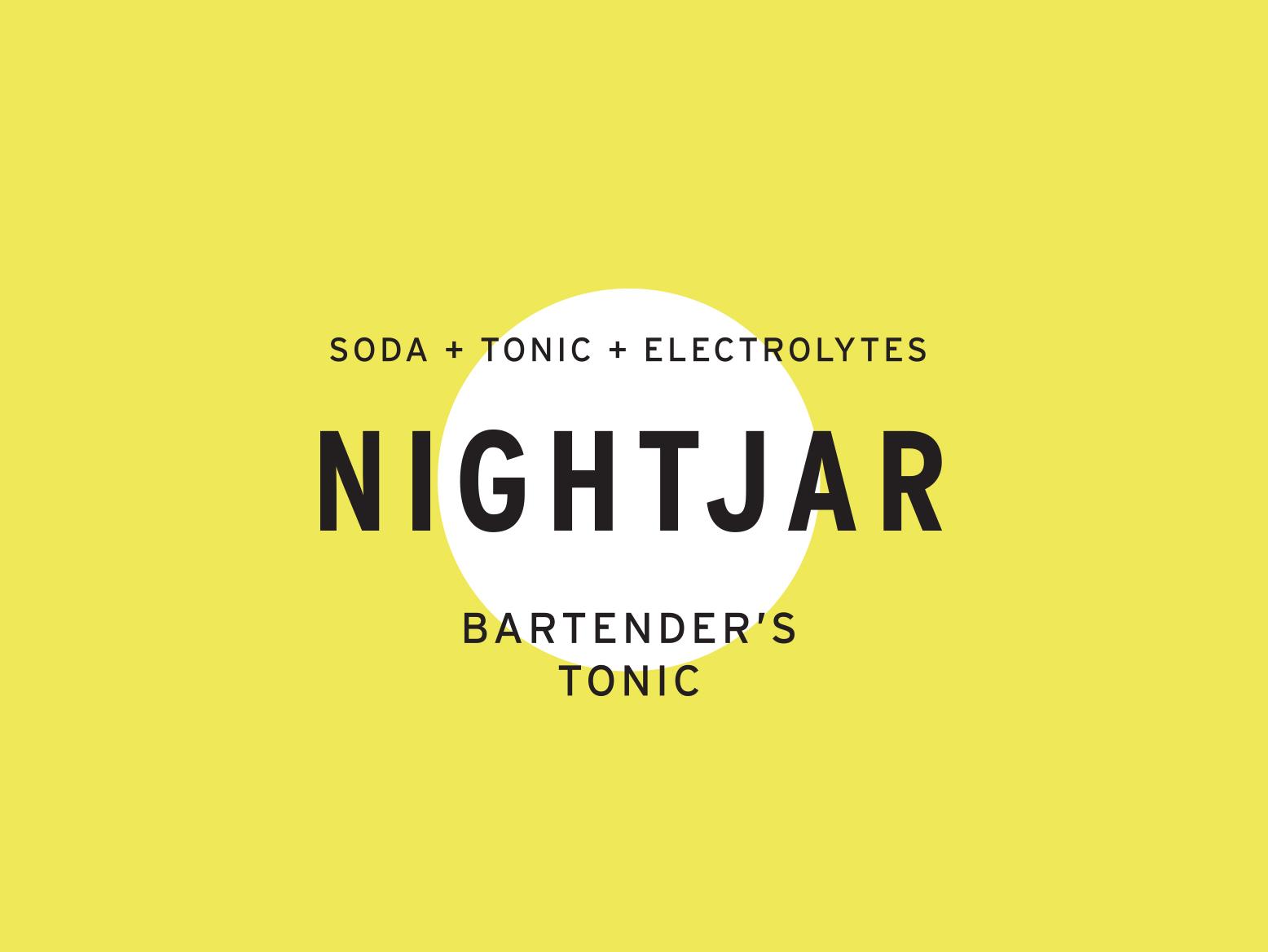 Mix it up branding yellow logotype type logo alcohol drinks bar bartender bartending tonic water soda mixer