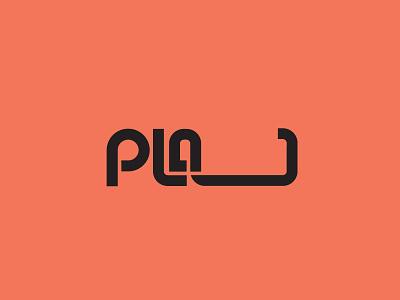 Plaj Logo 03 identity typography logotype letter id plaj music band band graphic design emblem logo amblem