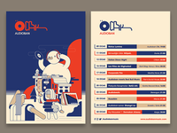 Audioban january event calendar