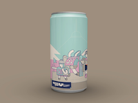 Audioban february beer can