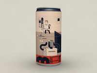 Audioban march beer can