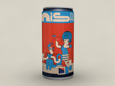 Audioban april beer can
