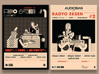 Radyo Eksen Posters