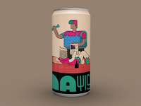 Audioban may beer can