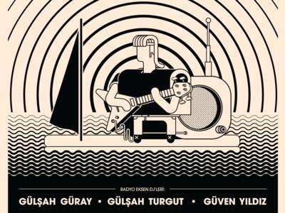 Radyo Eksen Geceleri 3 Poster