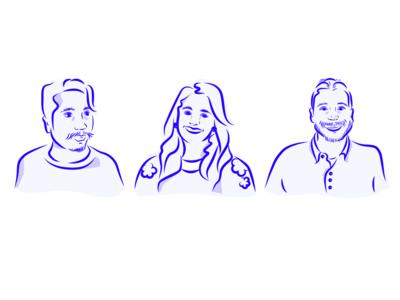 Team Portraits culture team portraits portrait illustration design