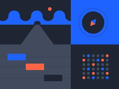 Series B and Beyond branding illustration design