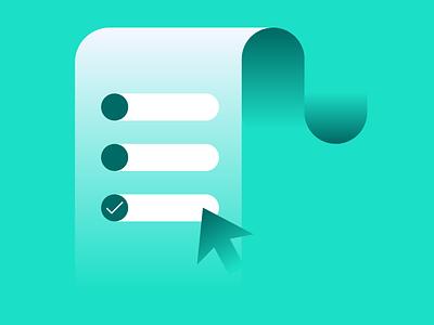 Kalderos Request Tool blog tool product illustration branding design