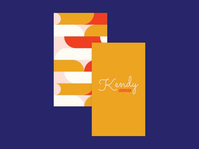 Kendy Johnson Branding musician music indentity branding logo design