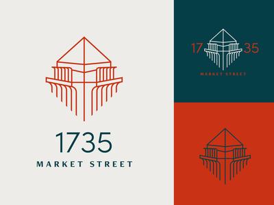 Building Mark Concept A identity logo branding design