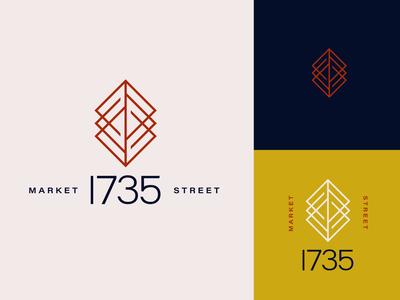 Building Mark Concept B identity logo branding design
