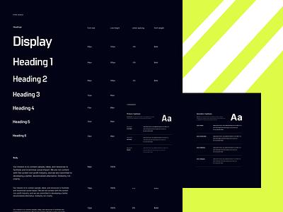 TEC Branding Typography logo trypography design branding commons egnineering token