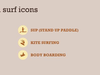 Surf Icons gls surf icons wave vintage retro canada