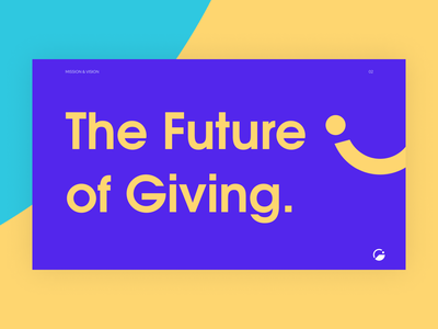 The Future of Giving brand identity giveth brand guidelines brand