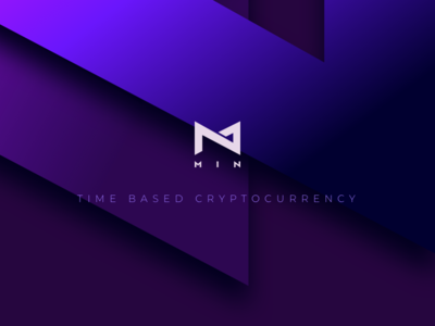 Min Token Logo minute payment time logo token crytocurrency