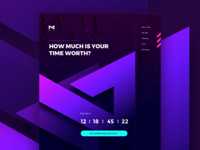 Ico Landing Page minute payment time landing page ico token crytocurrency