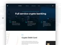 Full Service Crypto Banking