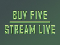 Buy Five | Stream Live