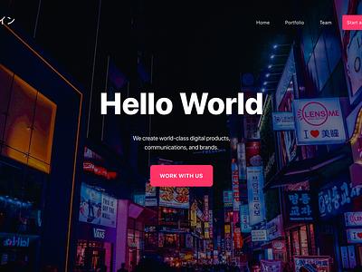 #concepts - Landing Page Design product design web invisionstudio invision userinterface product design user experience user interface ux ui