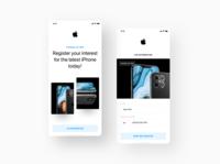 #concepts - iPhone 12 Interest Registration