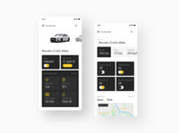 #concepts - Mercedes App for iPhone