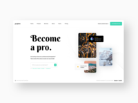 #concepts - Photography Courses Landing Page