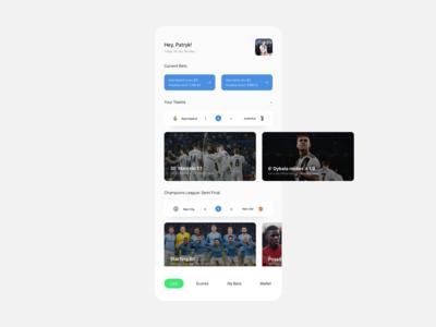Football Scores/Betting App