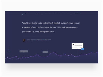 Stonks(Stocks) Landing Page