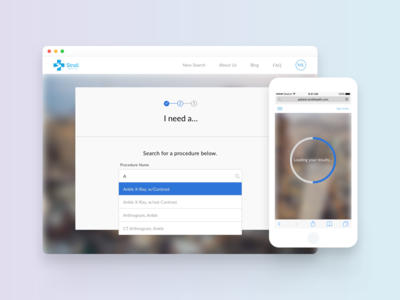 Stroll Health Patient-Portal Redesign