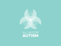 All In For Autism Logo