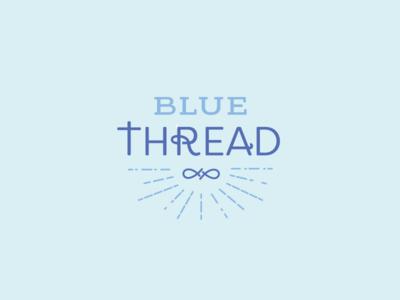 Blue Thread christian thread blue logo