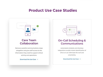 Use Cases website icons telehealth ui health use case tiles