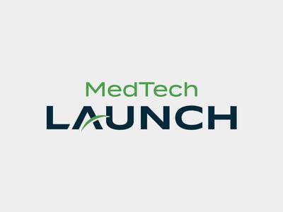 Medtech Launch Logo launch design technology medical logo