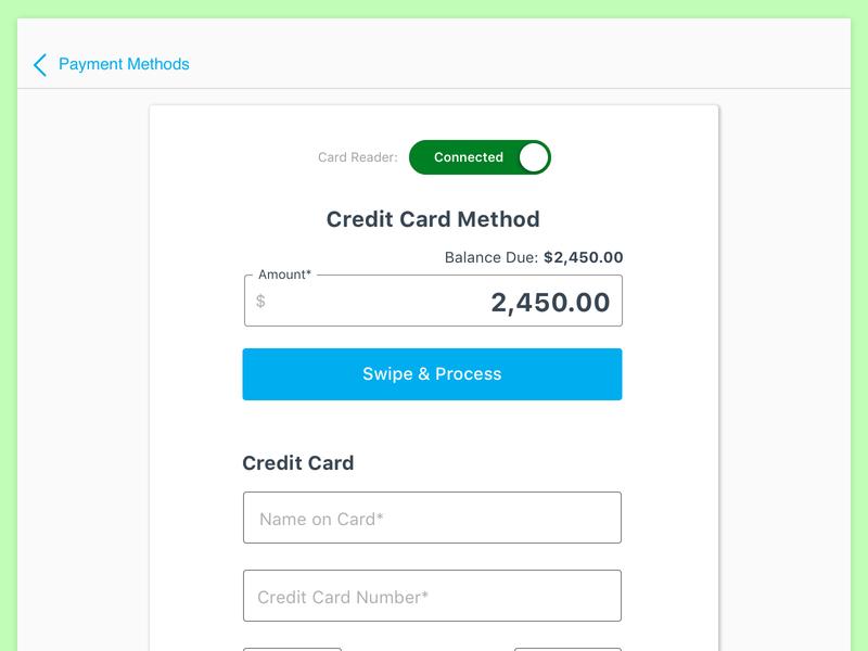 Sacrificing UX - Card Reader cardconnect stripe authorize.net servicebridge creditcard mobile payments ux card reader