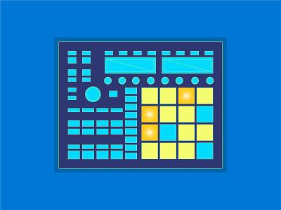 Maschine mk2 mk 1 midi controller music native instruments