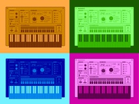 Color Combination Synth