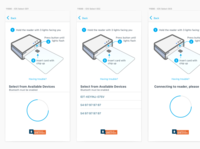 Connecting Card Reader uiux ui step by step instructions card connect card reader