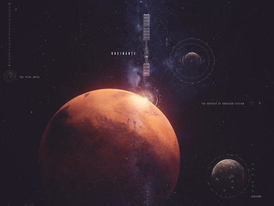 Expanse / Leviathan Wakes c4d cgi illustration render 3d cinema4d abstract