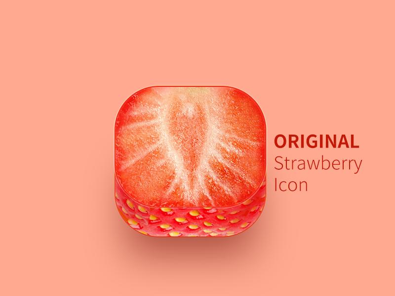 Original Strawberry fruit red strawberry original