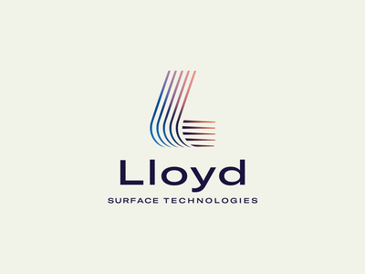 Lloyd Surface Technologies Concept science technology tech surface logo
