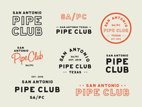 San Antonio Pipe Club Branding
