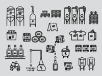 Balcones Distillery Icons